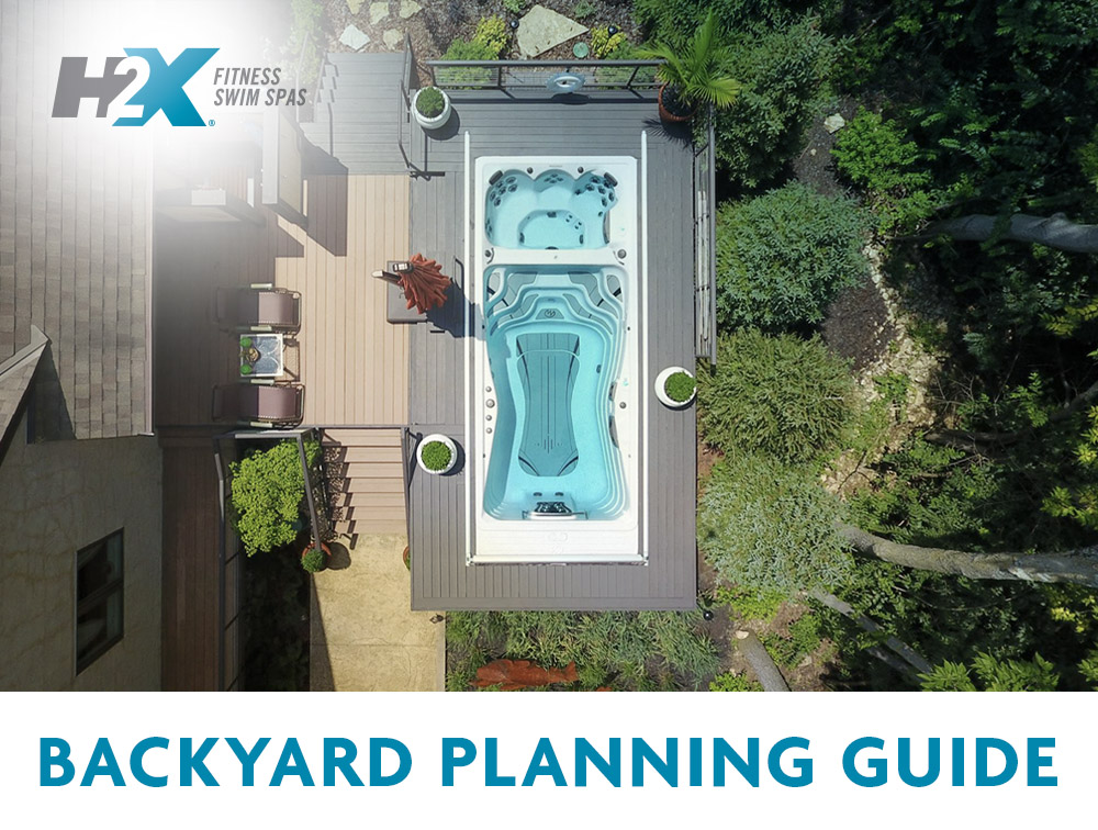 Download the h2x swim spa backyard planning guide