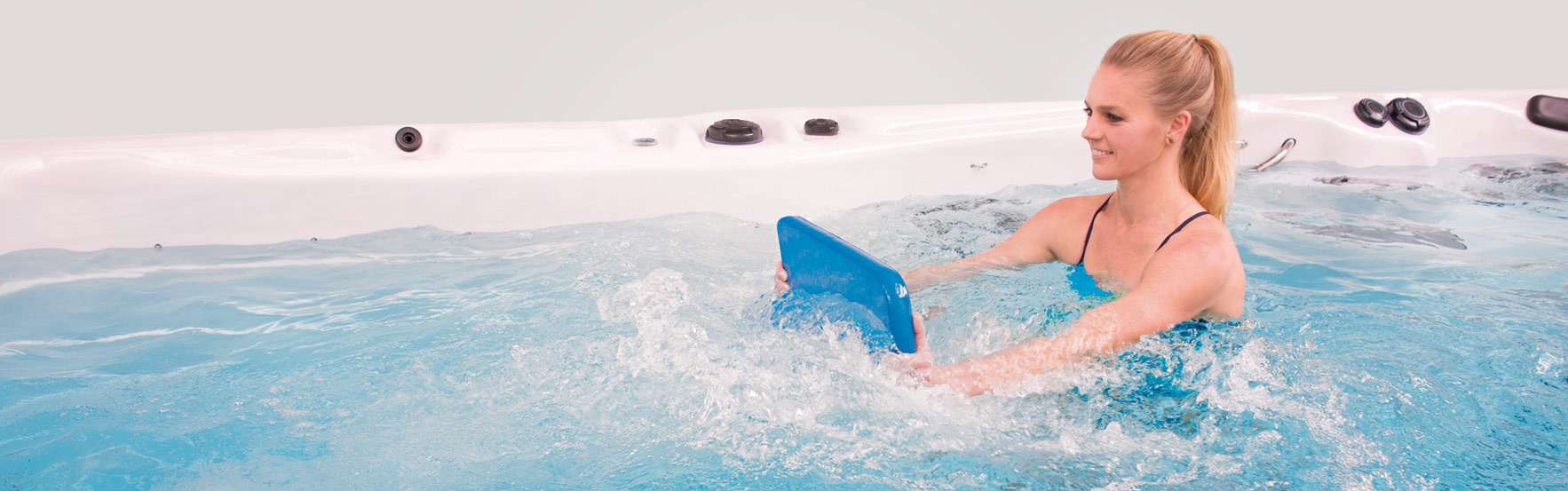 Find out the health benefits of owning a swim spa