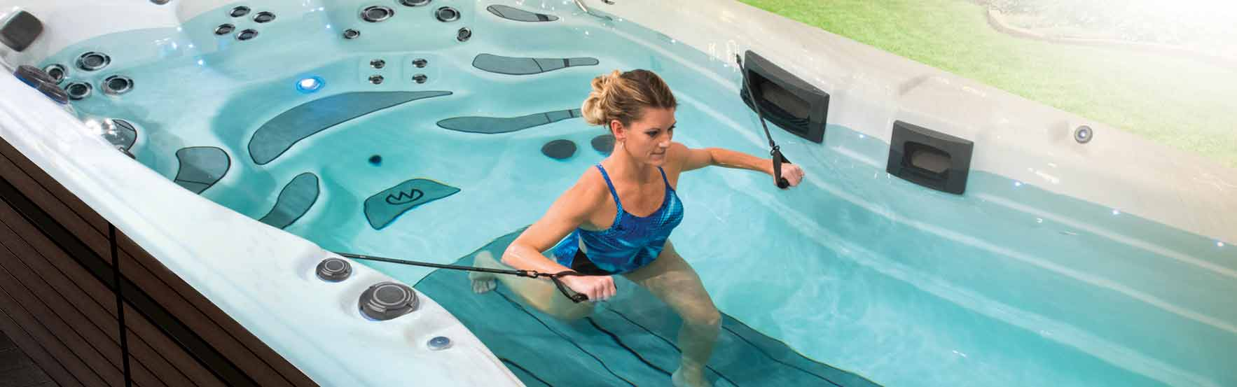 Trainer Series swim spas by Master Spas