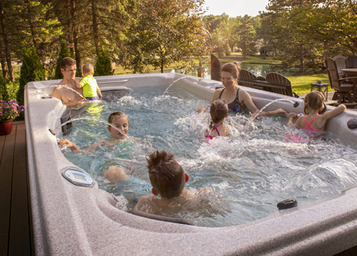 Fun for the whole family in the comfort of your backyard