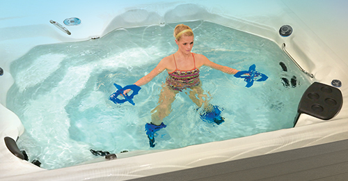 Therapool swim spas are more focused on keeping you fit