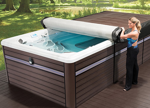 The new axis cover system by master spas