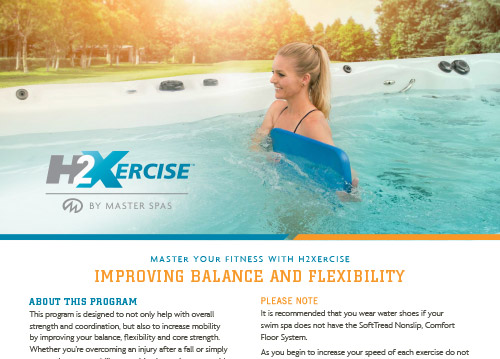 h2xexercise instructional sheets
