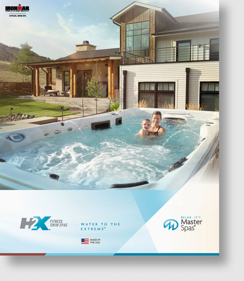 Download the H2x swimspa brochure