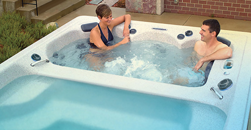 An H2X swim spa is your relaxation station